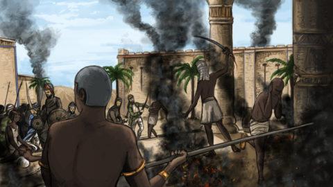 L'Egypte attaquée