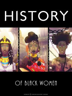Poster Pédagogique Série History Femme Locks