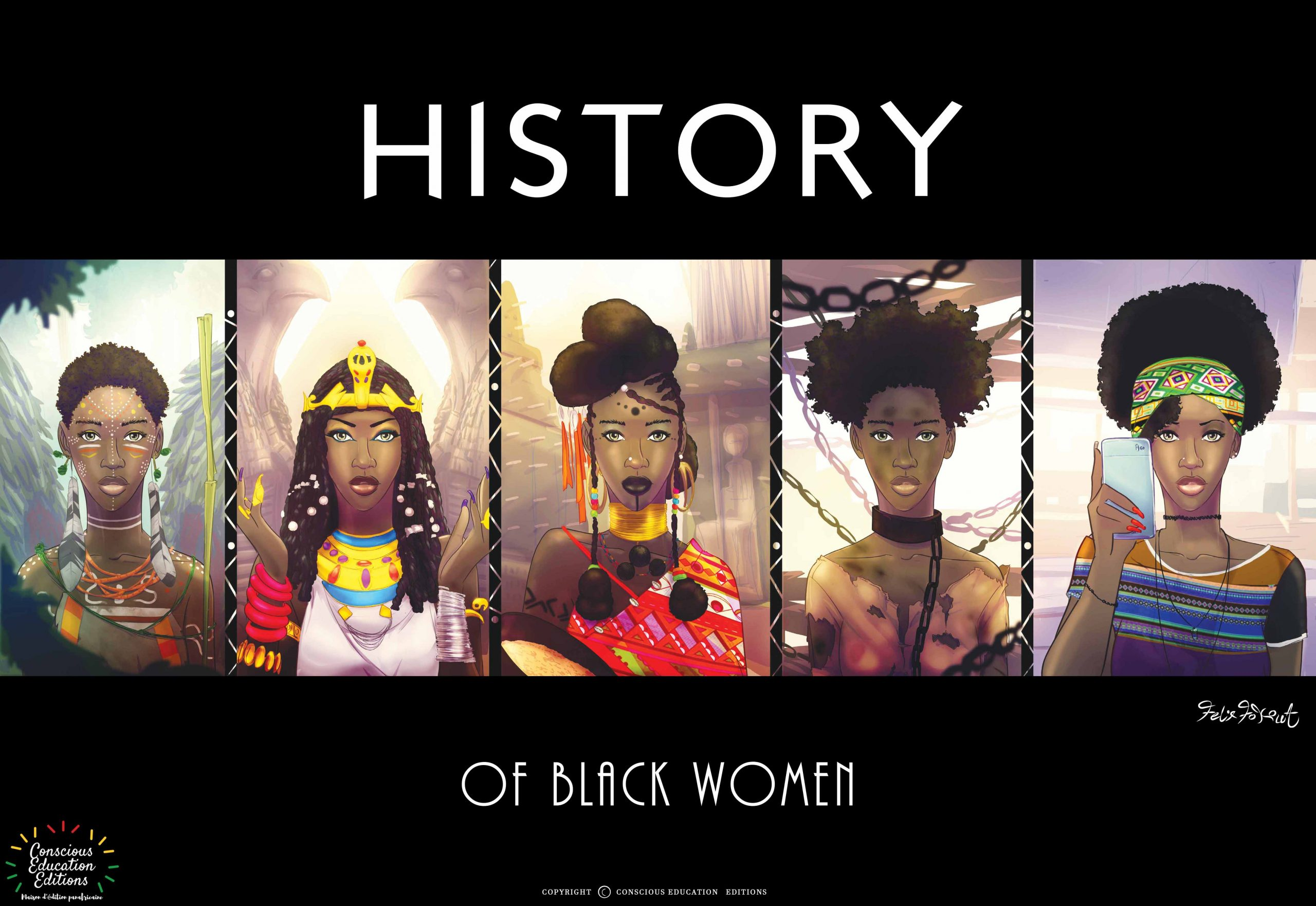 HISTORY OF Black women-Afro